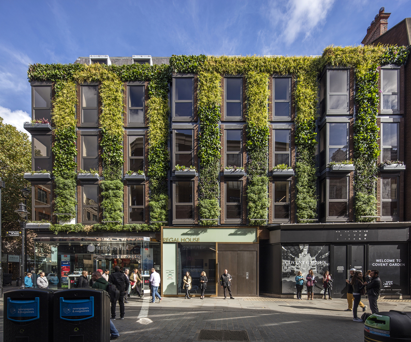 Regal House, Covent Garden, Living Wall