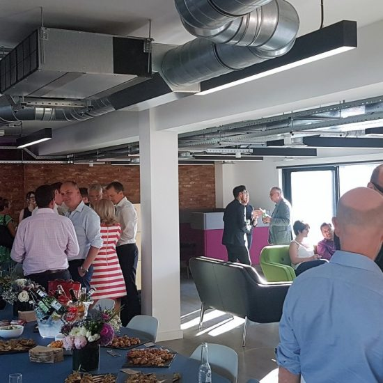 evolve, Summer, Party, Drinks, Clients, Friemds, Colleagues, Networking, Engineering, Construction