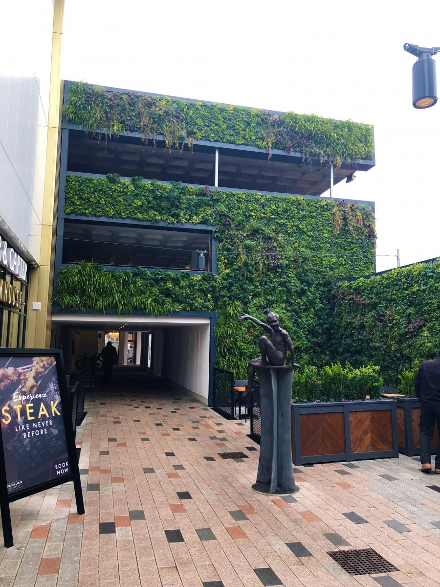 Bell Court, Stratford-upon-Avon, Retail, Leisure, Living Wall