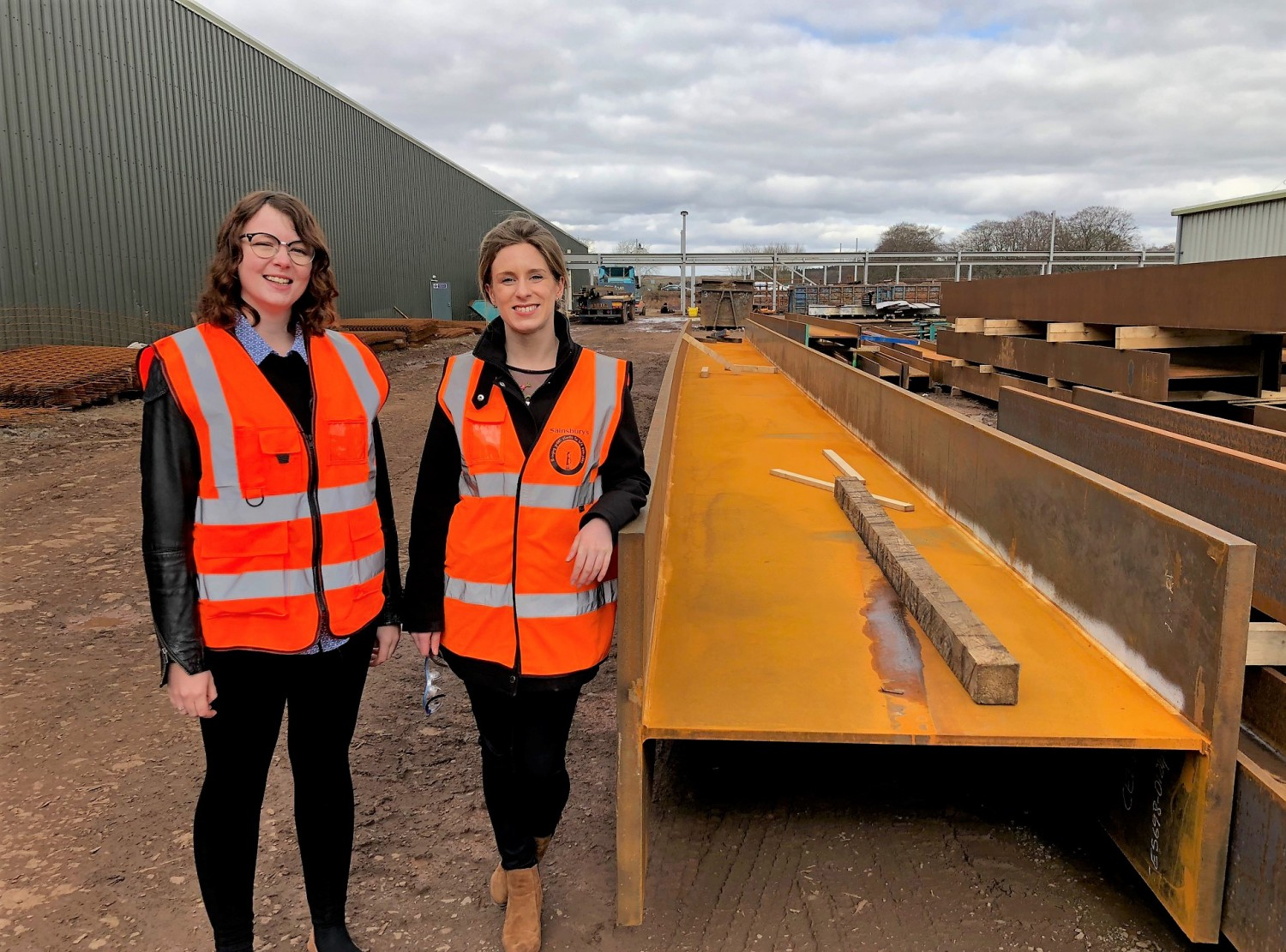 Jess and Maggs, Evolve Consulting Engineers